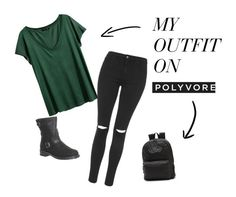 """Everyday"" by ainenorathomas on Polyvore featuring Topshop, H&M, Office and Vans"