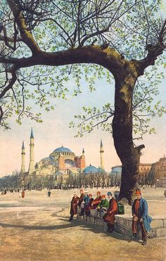 spring time in Ottoman İstanbul Turkey