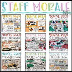 Teacher Morale Boosters: Staff Sunshine - Magic of Teaching