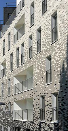 26 Apartments,Courtesy of  pierre alain trévelo & antoine viger-kohler architectes