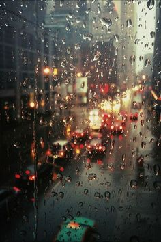 Rainy city lights [Drizzle by Grey van der Meer] Rainy Mood, Rainy Night, Rainy Days, Image Tumblr, I Love Rain, Rain Dance, Rain Photography, Singing In The Rain, Rain Drops