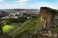 Arthur's Seat, Edinburgh - I lived down there somewhere off the Royal Mile for a bit after college. I miss it!