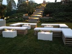 Out door lounge for wedding … More
