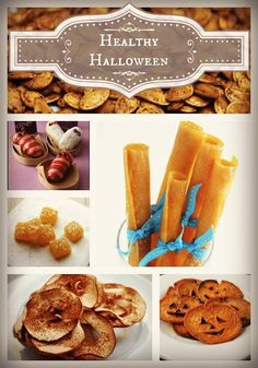 10 Healthy Recipes for Halloween Treats. FINALLY, something the adults can enjoy, too!