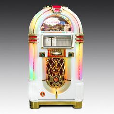 View our top-quality Rock-Ola Bubbler Elvis CD Jukebox to add that touch of fun to your games room, office space or home decor. Cd Album Covers, Elvis Cd, Luxury Gifts For Men, Cd Holder, Front Door Signs, Leather Bound Books, Music System, Title Card, Jukebox
