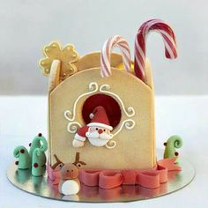 Santa little house