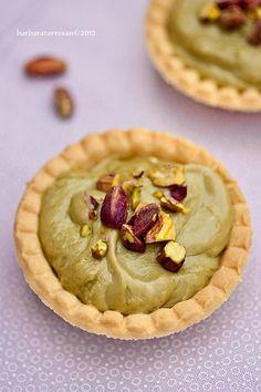 BABS (R)EVOLUTION: Tartelette con crema - montata - al pistacchio