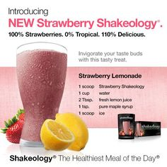 Strawberry Lemonade Shakeology Recipe