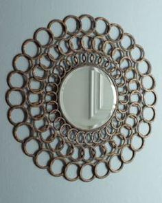 1000 images about mirror mirror on the wall on pinterest for Small round craft mirrors