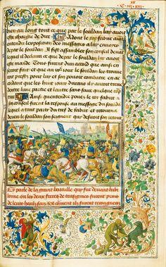Getty Museum, Los Angeles - De pelgrimage van Ridder Gillion de Trazegnies naar het Heilige Land - Handschrift in opdracht van Lodewijk van Gruuthuse, verlucht door Lieven van Lathem, 1464