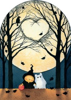 the most adorable spooky ever by Mary Melcher