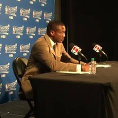 Toronto Raptors Coach Dwane Casey addresses the media following tonight's win.