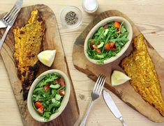 Have you got room for a massive clay oven (tandoor)? Neither do we, so we've whipped up a tandoori yogurt marinade for you to coat your haddock in. Baked Haddock Recipes, Abel And Cole, Clay Oven, Chef Recipes, Garam Masala, Culinary Arts, Tray Bakes, Paleo, Yummy Food