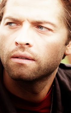 Seriously, Misha looks like he just stepped off a modeling magazine.