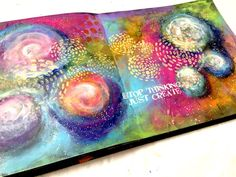 INTUITIVE PAINTING – CONTRASTS & PATTERNS – Mixed Media Art Tutorials