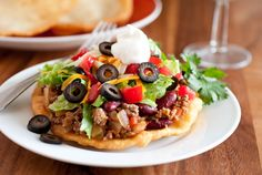 Mom's Navajo Tacos and Indian Fry Bread (IF YOU'VE NEVER HAD INDIAN FRY BREAD OR INDIAN FRY BREAD TACOS, TRY ONE. WOW. USED TO EAT THE IN NEW MEXICO.)