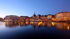Old Town, Stockholm, view on Munkbron and Kornhamnstorg