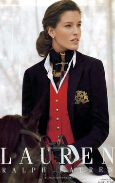Model: Chiara Baschetti for Ralph Lauren