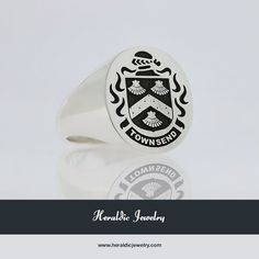 Townsend family crest jewelry