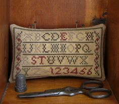 Country Rustic Primitives~ Nothing like a good prim alphabet to catch the eye!
