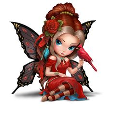 Draw Creatures Jasmine Becket-Griffith Songbird Fairies Figurine Collection - Limited-edition handcrafted fairies with songbirds inspire us to embrace our true colors. Hand-painted in metallic and glossy hues, glittery accents. Blue Willow China, Snow Fairy, Kobold, Fairy Pictures, Gothic Fairy, Fairy Figurines, Beautiful Fairies, Beautiful Butterflies, Fairy Art