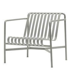 Palissade Lounge Chair Low, sky grey, HAY, Ronan & Erwan Bouroullec