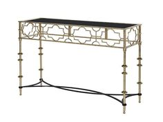 Cut-Out Metal Console Table is an eye catching console table, that will be an astonishing feature in your home. Cut-Out Metal Console Table Contemporary Furniture, Luxury Furniture, Metal Console, Decor, Metal Console Table, Luxury Interior, Hall Table, Eclectic Interior, Metal Table