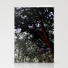 Posterized Trees Stationery Cards by Rachel Winkelman - $12.00