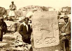 G.Antep, Karkamış kazılarından L. Woolley ve ekibi 1912