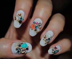 Celebration (Nail Design) June 5, 2010 by tourmania, via Flickr