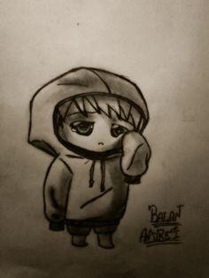 #Sad boy !!