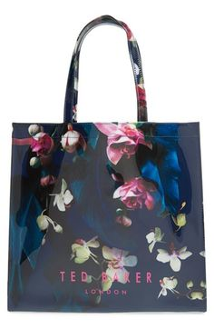 Ted+Baker+London+'Large+Icon'+Floral+Tote+available+at+#Nordstrom