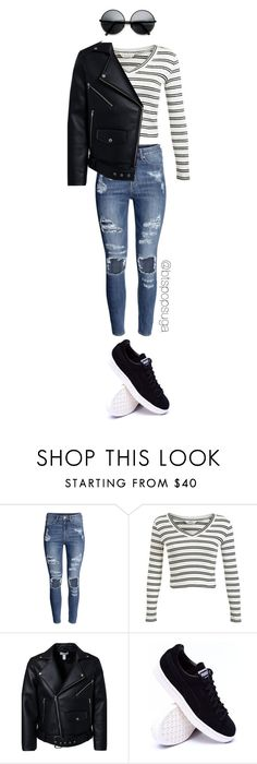 """BTS Run inspired outfit Part4/7"" by alinamauh ❤ liked on Polyvore featuring H&M and Miss Selfridge"