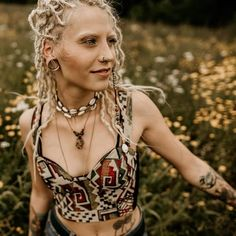 353 Likes, 3 Comments - White Girl Dreads, Dreads Girl, Flowers Nature, White Girls, Inked Girls, Eyebrows, Curly, Dreadlocks, Witches