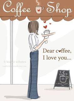 Ilustraciones de café