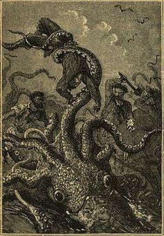 Sea monsters.