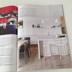Barwon heads kitchen in H kitchens architects were @gerdien pleysier Perkins @Allison House! and Garden UK shot by @diannasnape