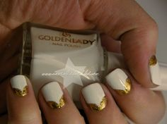 Fun No-brainer Nail Combo: White and Gold (Check Out These 5 Ways To Wear It!)
