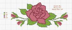o Cruz - bitte hinterlasse deine Kommentare - Dinha Pont - Cross Stitch Borders, Cross Stitch Rose, Cross Stitch Flowers, Cross Stitch Patterns, Free To Use Images, Hardanger Embroidery, Crochet Tablecloth, Knitting Videos, Tapestry Crochet