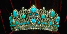 Famous Birthstone: December's Turquoise Empress Marie-Louise Diadem - GIA 4Cs