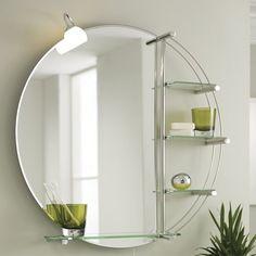 Elements Bathroom Mirror With Shelf