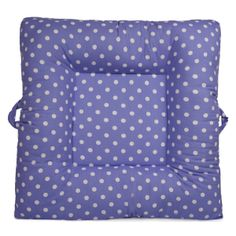 Polka Dots - Purple - LaLaLounger #nursery #playroom #kids #babies #lalalounger