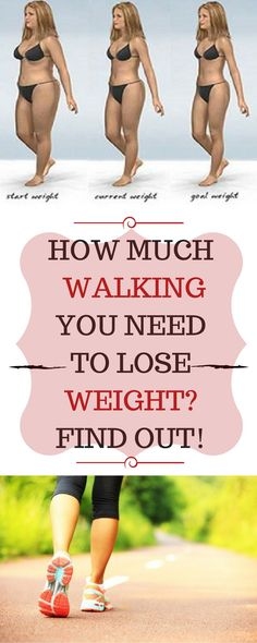 HOW MUCH WALKING YOU NEED TO LOSE WEIGHT FIND OUT