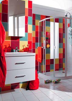 conseil deco salle de bain pour enfants fille et gars - Salle De Bain Enfant Coloree