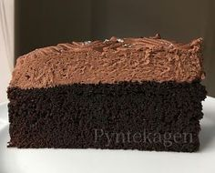 This cake is filled with black magic - it simply tastes so good, has a nice consistency and together with the amazing Sweets Cake, Cookie Desserts, Black Magic Cake, Cake Hacks, Recipes From Heaven, Cookies And Cream, Cakes And More, Let Them Eat Cake, Yummy Cakes