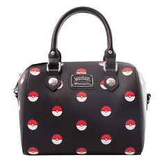 Pokemon - Pokeball Black Loungefly Handbag - ZiNG Pop Culture House Design ef54fa432a790