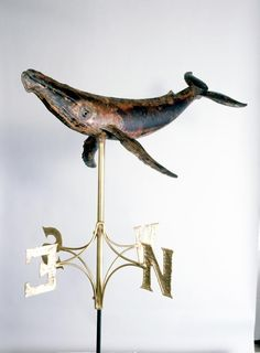 Humpback Whale Weathervane – Custom weathervanes and Copper Sculpture Lightning Rod, Weather Vanes, Ceramic Animals, Art Carved, Humpback Whale, Nautical Fashion, Environmental Art, Nautical Theme, Whales