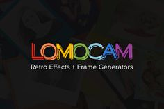 Check out Lomocam - Retro Effects & Frames by sparklestock on Creative Market