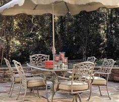 Hampton Bay Folian Dining Chair Cushions