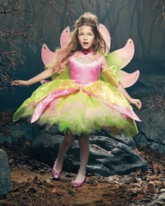 light-up fantasy firefly girls costume - exclusively ours - Twinkle, twinkle, in the night.  #halloween #girlscostumes